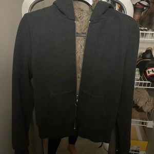 Juicy couture fur hoodie